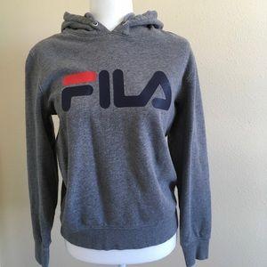 FILA + Urban Outfitters Hoodie Sweatshirt